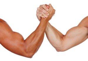 Reglas de lucha de brazos